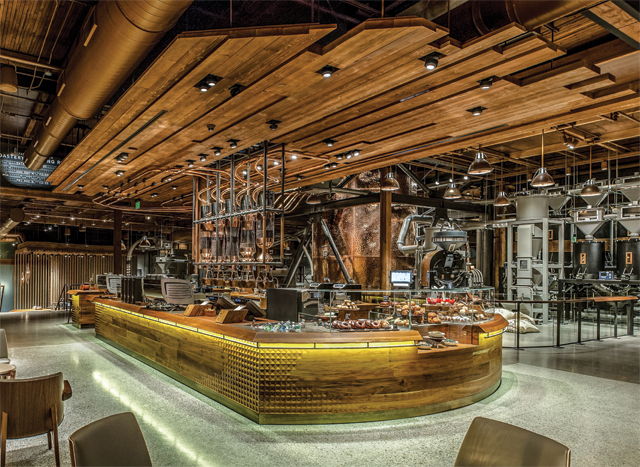 An In Depth Look At The Starbucks Reserve Roastery And